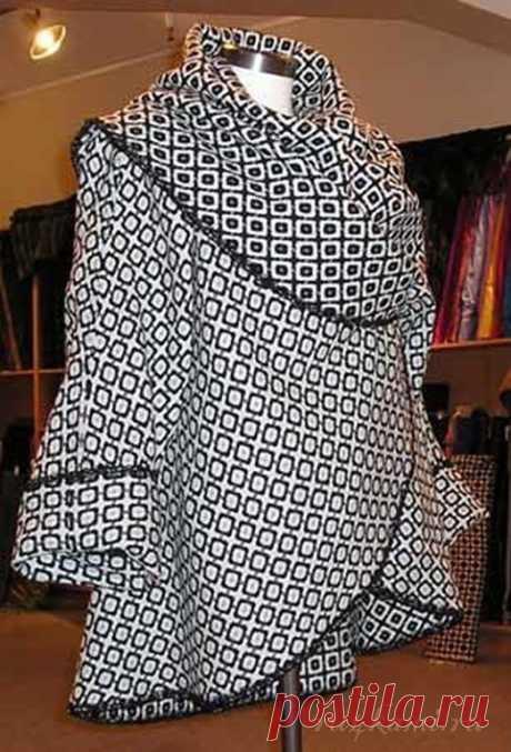 На заметку тем, кто шьет - это пальто шьется быстро и просто
