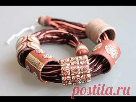 etno - los collares de la arcilla polimérica