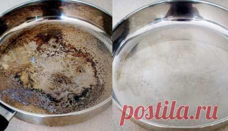 Кристальная чистота металлической посуды с помощью экосредства — Полезные советы