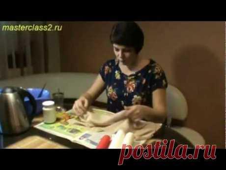 Цветы из ткани. Мастер-класс: обработка ткани желатином (handmade)