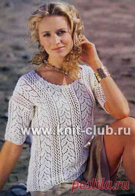 вязаные пуловеры спицами | Записи в рубрике вязаные пуловеры спицами | Вязание-для-женщин