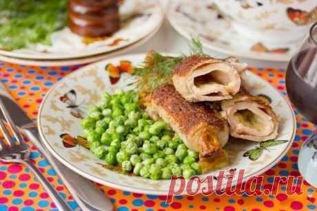 Рулетики из свинины   Вторые блюда   La-Minute - Вкусные рецепты с фото и пошаговым приготовлением !
