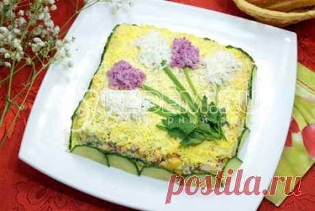 Салат «Первоцвет» – Рецепты. Салаты