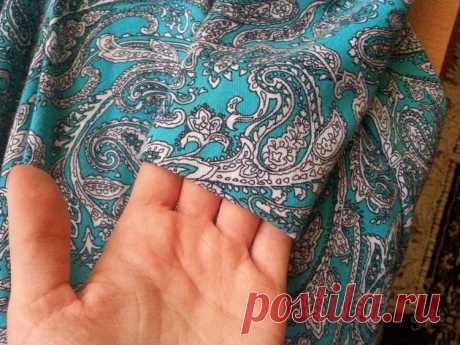 Как подшить платье вручную без машинки потайным швом