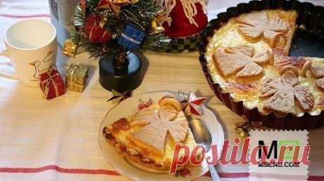 """El pastel """"Рождественские ангелы"""". - la receta de cocina. Un millón De menú"""