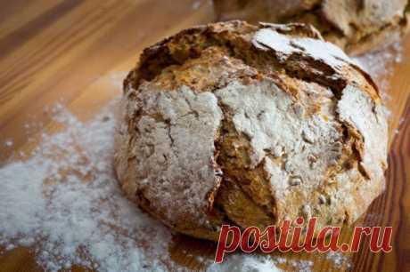 Готовим ПОЛЕЗНЫЙ БЕЗДРОЖЖЕВОЙ домашний хлеб