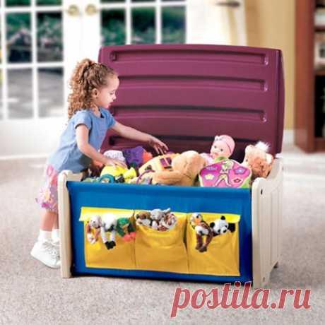 Как сделать коробку для игрушек своими руками