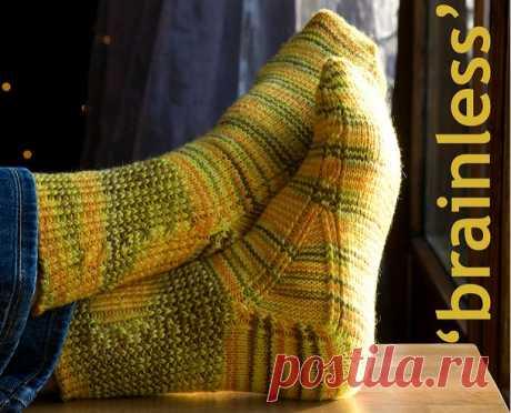 Ценный\бесценный онлайн в Стране Мам по вязанию носков от мыска
