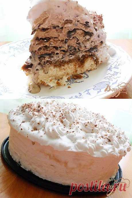 Торт-мороженое Мильфей *Семифреддо*