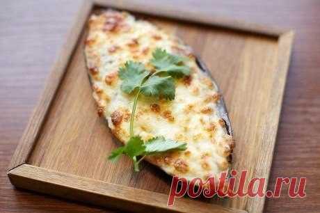 Баклажаны с сыром и помидорами — Мегаздоров
