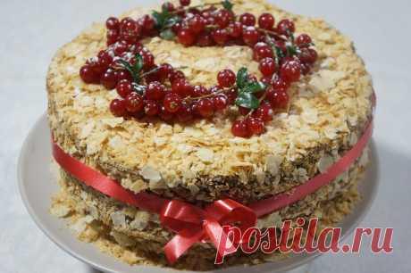 НАПОЛЕОН - великолепный десерт для любого праздничного стола!