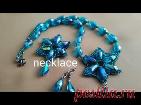 Necklace. Колье. МК