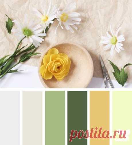 Сочетание цветов / Рукоделие