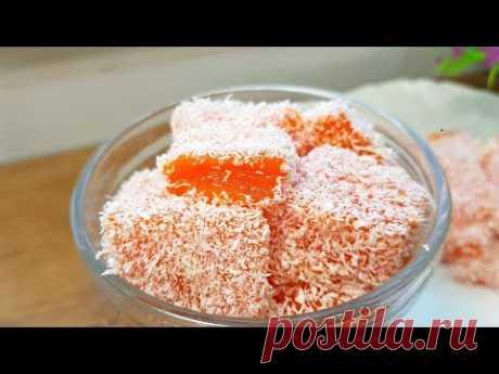 Легкий Десерт за 5 минут! Без желатина на Праздничный стол. Вкуснятина из ТЫКВЫ