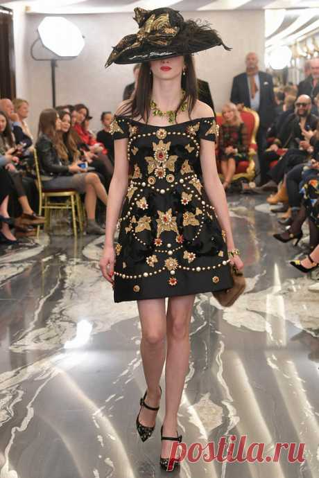 Dolce & Gabbana Alta Moda осень-зима 2017-2018 в Лондоне