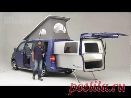 Practical Motorhome Doubleback VW Camper review - YouTube