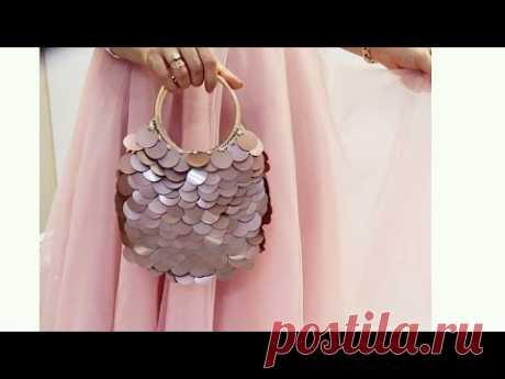 сумочка с блестками