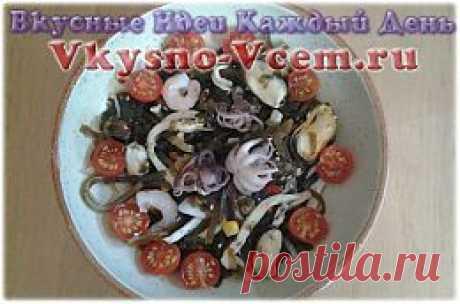 Салат из молодых осьминогов. Молодые осьминожки, их «собратья» по морской стихии – кальмары и мидии, немного фантазии – и на вашем столе оригинальное блюдо – салат из осьминогов! Рецепт закуски создан, чтобы разжечь аппетит и видом, и вкусом. Придайте трапезе очарование средиземноморской кухни!