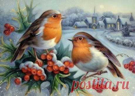 О птичках..............))))