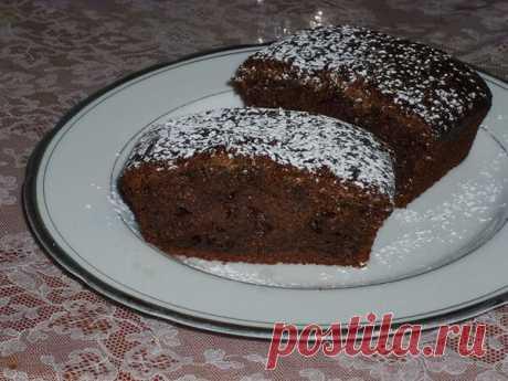 Простой, но вкусный шоколадный пирог на молоке | Poperchi.Ru | Яндекс Дзен