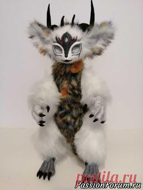Милый Монстрик. - запись пользователя katara-1 (Анна) в сообществе Мир игрушки в категории Разнообразные игрушки ручной работы