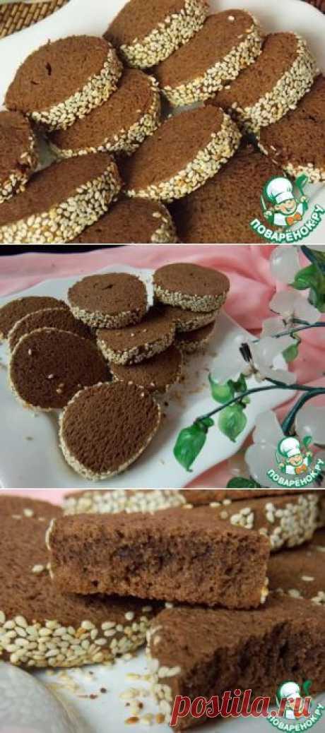 Шоколадно-кофейное печенье - кулинарный рецепт