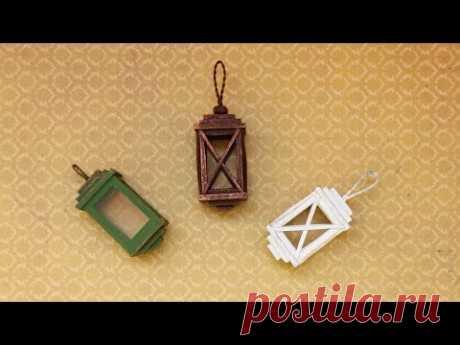La linterna. La miniatura