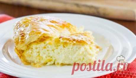 El pastel griego de queso