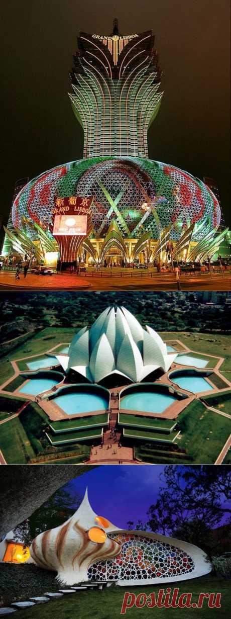 Удивительные и причудливые строения со всего мира.