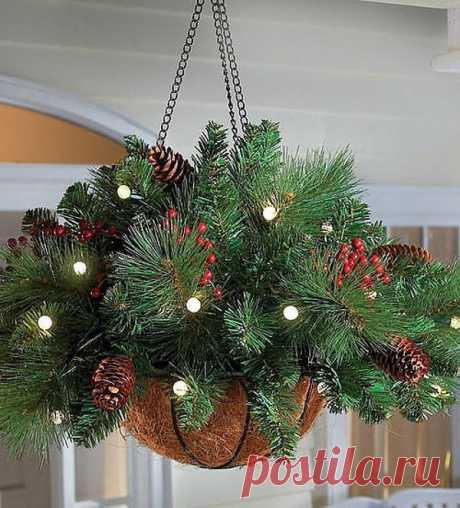 Чудесные идеи для новогоднего декора