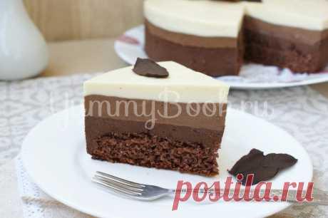 "La torta \""Tres chocolate\"""