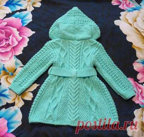 вязание пальто для девочки от 4 до 5 лет с описанием и схемами спицами: 5 тыс изображений найдено в Яндекс.Картинках