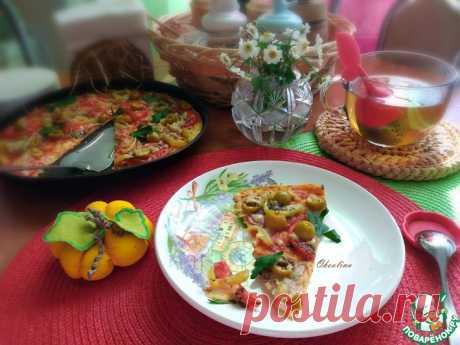 """Почти пицца """"Осень"""" Кулинарный рецепт"""