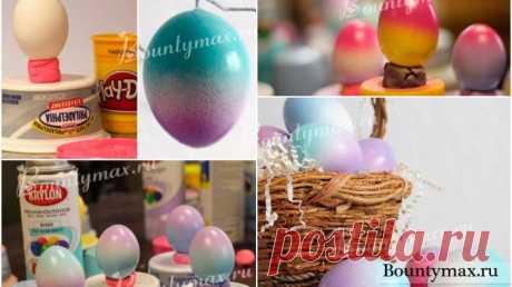 Красим яйца на Пасху по новому — Полезные советы