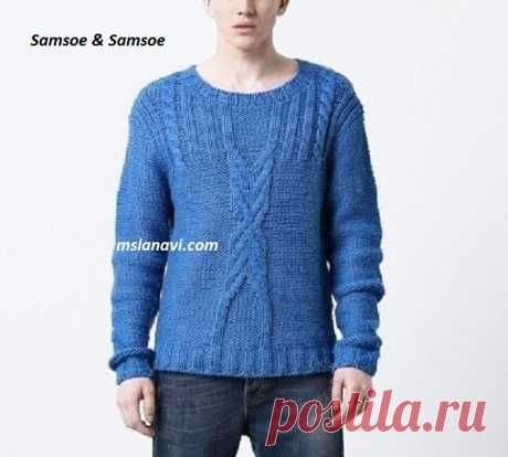 KNITTING, MAN'S MODELS | Records in the heading KNITTING, MAN'S MODELS | Fashionable knitting on MSLANAVI_COM