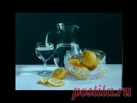 "Pintura al óleo: ""Limones"" - YouTube"