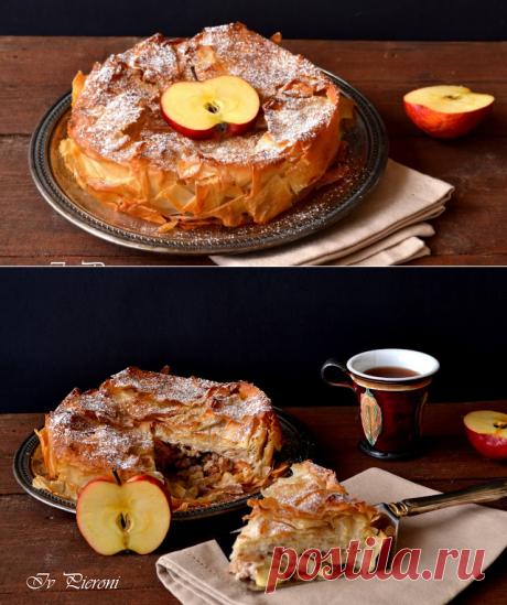 Баница щрудел - Torta croccante alle mele