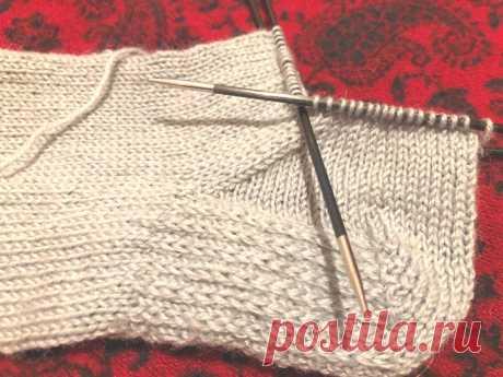 Мужские носки спицами, размер 42-43 | Рукоделие и вязание от uzelok.su | Яндекс Дзен