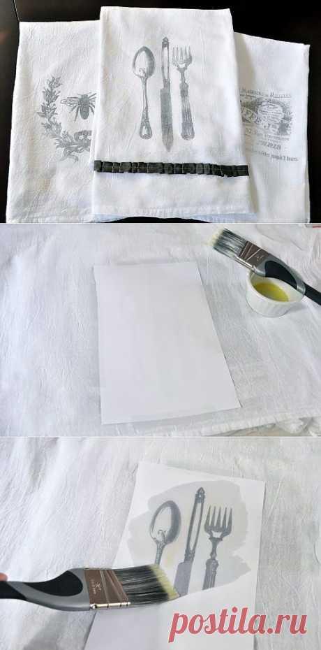 Как перенести рисунок на ткань | My Milady