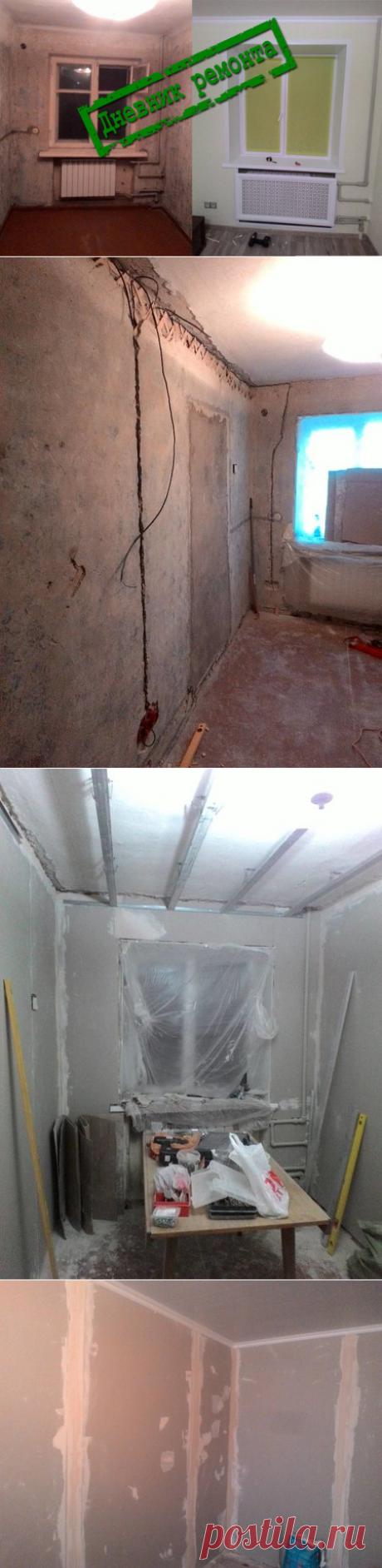 Делаем капремонт комнаты в хрущёвке своими руками за 40 тысяч рублей | Архнадзор | Яндекс Дзен