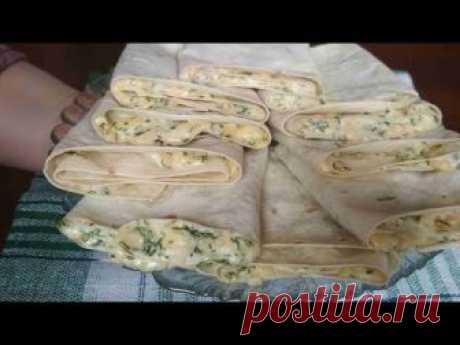 Вкусная закуска для пикника из лаваша за 5 минут рецепт с фото
