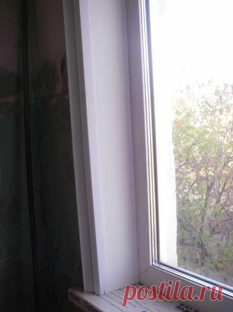 Как поставить пластиковые откосы на окна — Домашний уют
