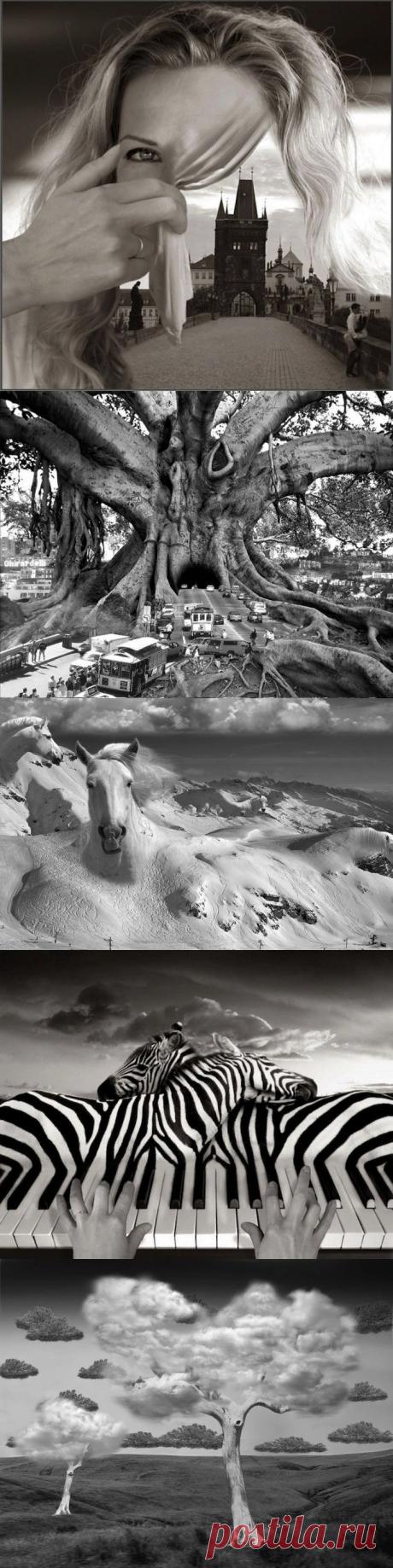 Сюрреалистические пейзажи фотографа Thomas Barbey — Фотошедевры