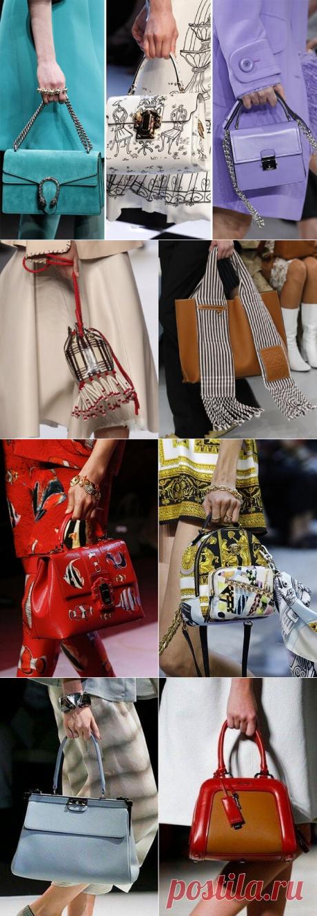 Какой цвет сумок модный в 2019 | Тысяча и одна идея