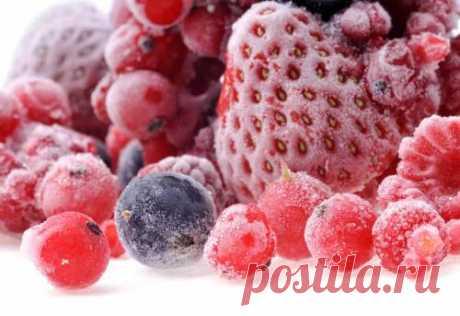Общие правила качественной заморозки ягод, плодов и фруктов   Островок Гурмания