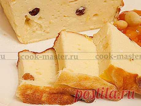 Творожная запеканка с изюмом - рецепт приготовления с фото / COOK-MASTER.RU