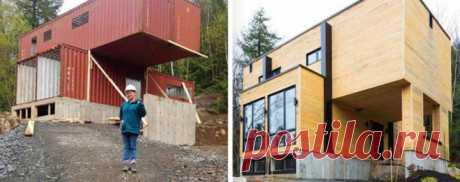 Девушка построила себе дом из обычных грузовых контейнеров… — Искусство здоровой жизни