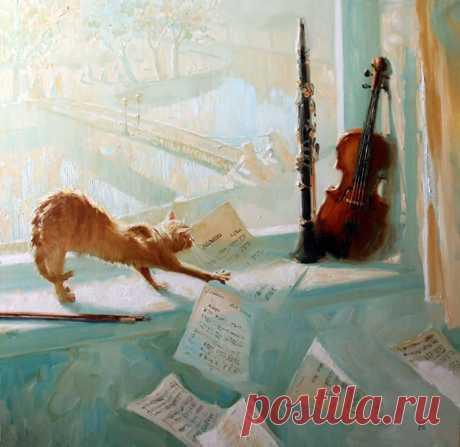 Позитивная живопись Марии Павловой