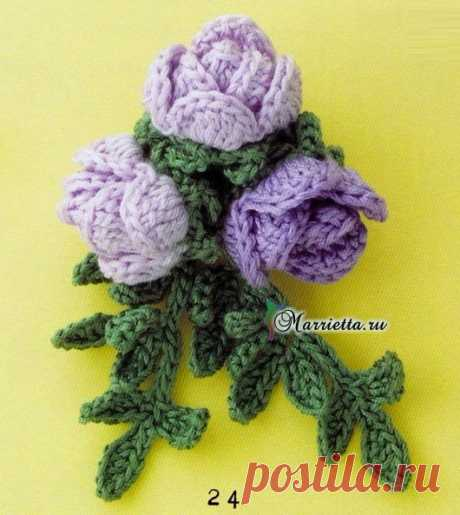 knitted jewelry, accessories | Records in a heading knitted jewelry, accessories | Vdokhnovlyalochka of Marietta
