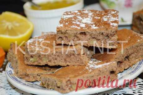 Печенье «Мазурка» с изюмом и грецкими орехами. Рецепт с фото • Кушать нет